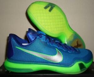 acab14b7c715 NEW NIKE AIR KOBE BRYANT X 10 A.D. EMERALD CITY BLUE GREEN ...
