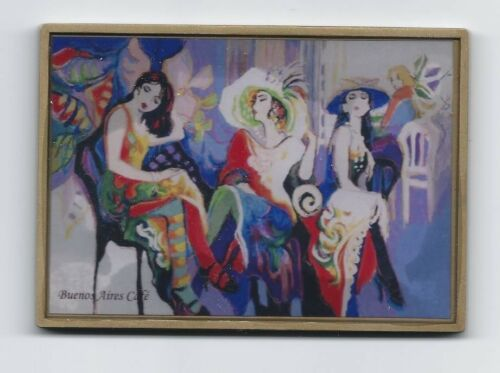 ART / PAINTER / BUENOS AIRES CAFÉ / BRASIL / BRONZE ENAMEL MEDAL. MA2