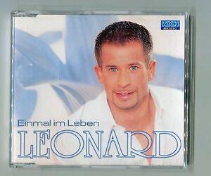 Leonard-cd-maxi-EINMAL-IM-LEBEN-2001-347-519-Austria-2-Track-CD