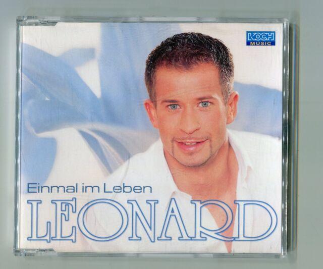 Leonard cd-maxi EINMAL IM LEBEN © 2001 - 347 519 - Austria-2-Track-CD