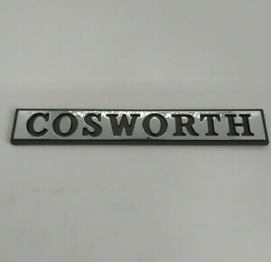 NEUF-MONOGRAMME-COSWORTH-COFFRE-LRG-FORD-SIERRA-RS-4x4-SAPPHIRE-LOGO-BADGE