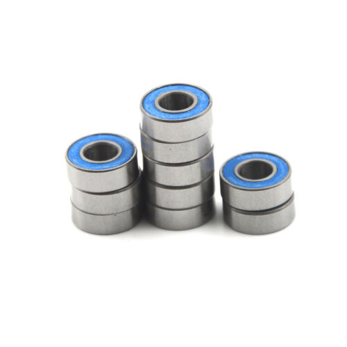 10pcs 5116 5x11x4mm Replacement Precision Ball Bearings MR115-2RS BLUS