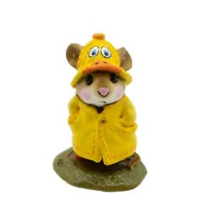 Wee Forest Folk M-180 April Showers - Duck Special (RETIRED)