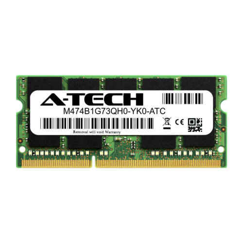 Samsung M474B1G73QH0-YK0 Equivalent 8GB DDR3 PC3-12800 ECC SODIMM Memory RAM