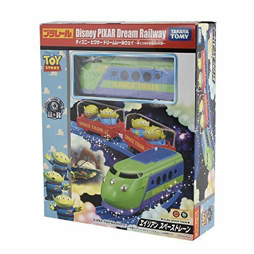 TAKARA TOMY Plarail Disney Pixar Dream Railway Alien Space Train New