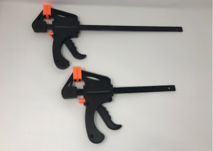 NEW-150-300-600mm-QUICK-RAPID-BAR-CLAMP-RATCHET-SPREADER-VICE-CARPENTER-GRIP