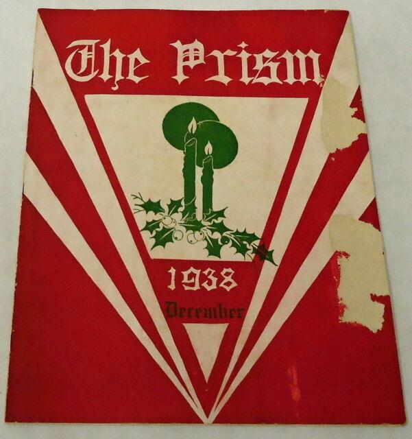December 1938 THE PRISM ~ Lynchburg College ~ Sigma Tau Delta