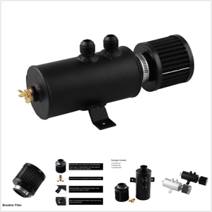 2-Port-Engine-Baffled-Oil-Catch-Can-Tank-Oil-Separator-With-Breather-Filter-AN10