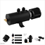 2-Port-Engine-Baffled-Oil-Catch-Can-Tank-Oil-Separator-With-Breather-Filter-AN10 miniature 1