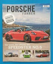 Porsche Fahrer Nr.4  2019 August/September/Oktober ungelesen 1A absolut TOP