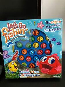 Let-039-s-Go-Fishin-039-Pressman-NEW