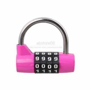 Cabinet Gym Resettable Combination 4 Digit Password Lock | eBay