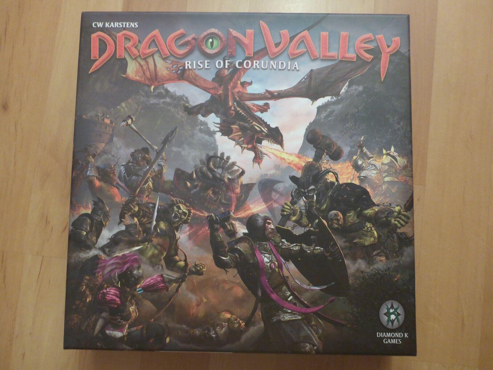 Dragon Valley  Rise of Corondia - Board Game  bas prix