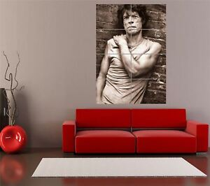Mick-Jagger-Rolling-Stones-Music-Band-Rock-Portrait-Sepia-Giant-Poster