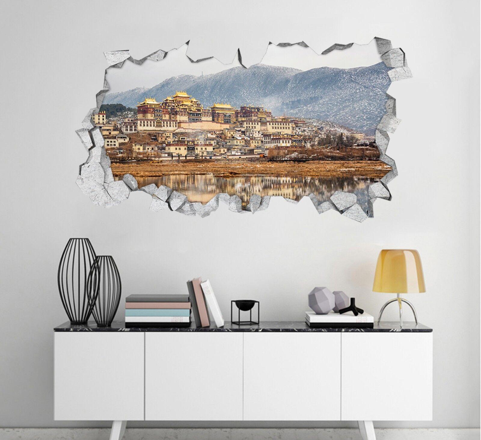 3D Alte Stadt 138 Mauer Murals Mauer Aufklebe Decal Durchbruch AJ WALLPAPER DE