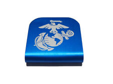 USMC EGA Marine Corps Blue Hat Clip for Tactical Patch Caps by Morale Tags