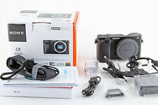 SONY Alpha 6000 B Gehäuse (ILCE-6000B) Systemkamera 24.3 MP WLAN schwarz