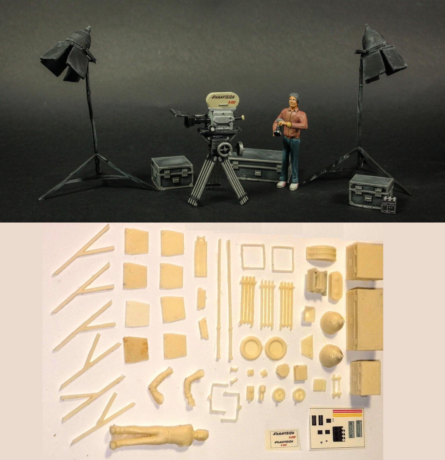 Panavision   imax psr r-200 harz - kit für diorama 1   24 film ist ein alien, star wars.