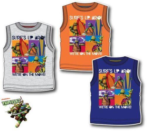 New boys licensed the Teenage Mutant Ninja Turtles sleeveless vest shirt