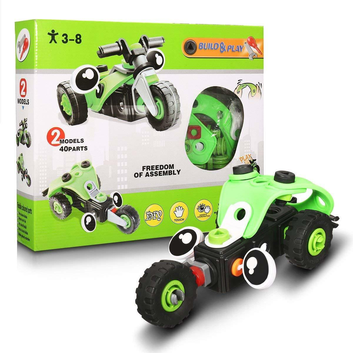 Assembly Toy, Building Car Toy, Take Apart Toys Construction Toys DIY Kit