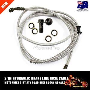 2100mm-Hydraulic-Brake-Line-Hose-Cable-Motorbike-Dirt-ATV-Quad-Bike-Buggy-GoKart