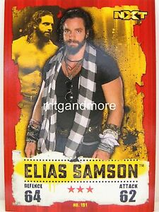 Slam Attax takeover - #191 Elias Samson 							 							</span>