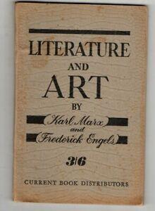 Literatura-y-arte-Karl-Marx-Y-Federico-Engels-c1949-vintage-de-P-B