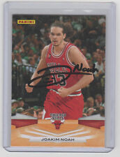 JOAKIM NOAH Bulls SIGNED 2009-10 Panini Basketball #55 Autograph ON CARD AUTO