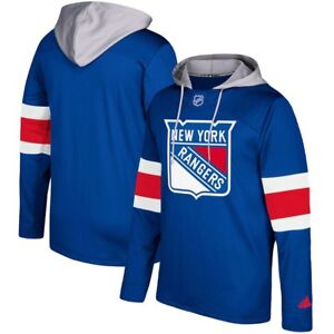 online store be499 f1456 Details about Adidas New York Rangers Jersey Pullover Hoodie Sweatshirt