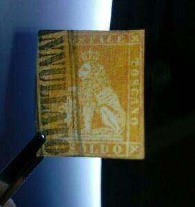 Lotto-francobolli-antichi-un-soldo-fournier