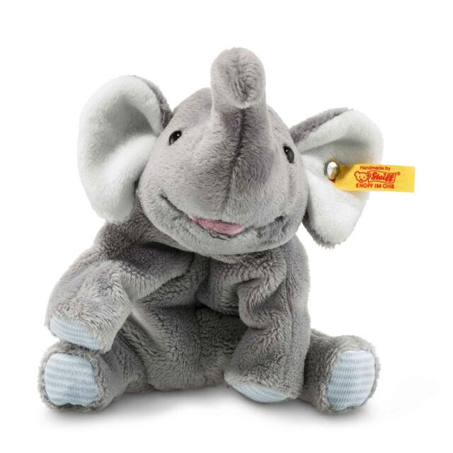 grau Steiff 064043 stehend Plüschtier 45 cm Trampili Elefant