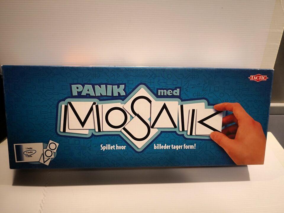 PANIK MED MOSAIK, brætspil