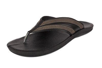 Para Hombre Gezer Togo marrón Flip flop sandal piscina Zapatos Talla 6 7 8 9 10 11