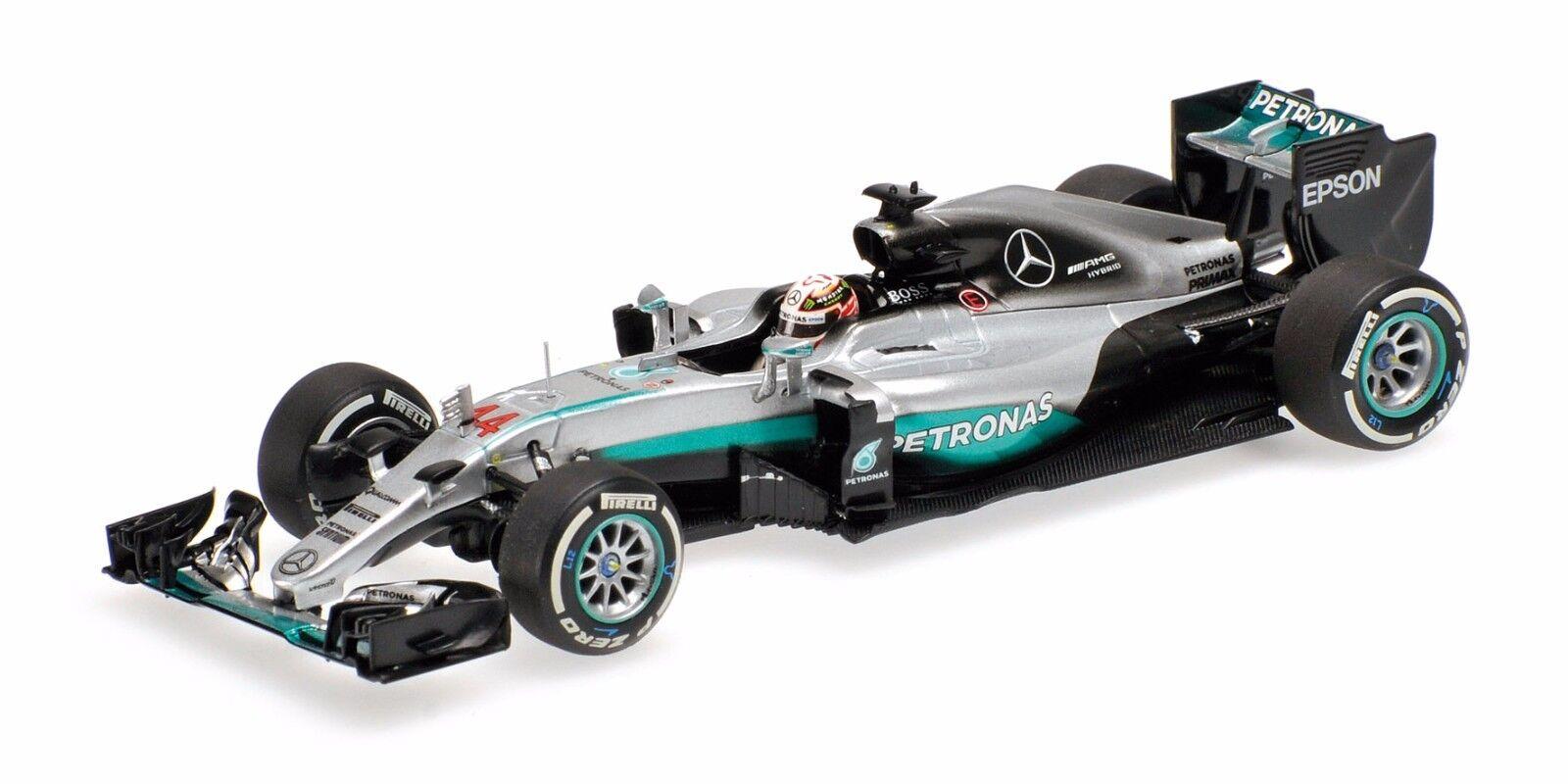 Mercedes AMG F1 W07 Hybrid Hamilton 2016 410160044 Minichamps 1 43 NEW in a Box
