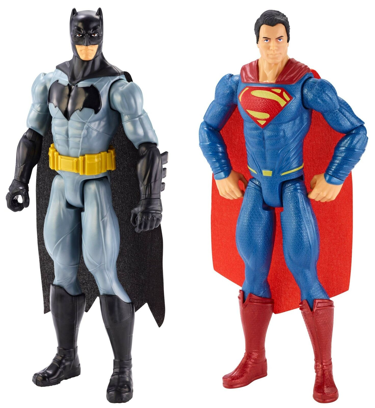 Figure di Batman VS Superman - 12 pollici, confezione da 2