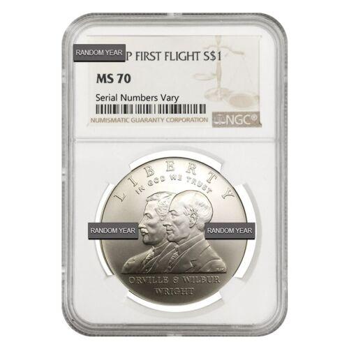 Mint $1 Silver Dollar Commemorative NGC MS//PF 70 U.S Random Year