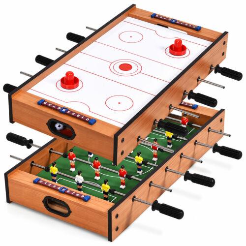 Multifunktionsspieltisch Multi-Spieltisch Air Hockeytisch 2 in 1 Spieltisch