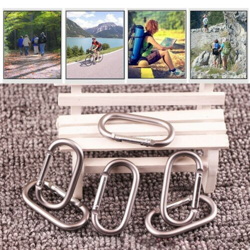 Details about  /tool Travel Kit Camp Mountaineering Hook Climing Carabiner Buckle Keychain