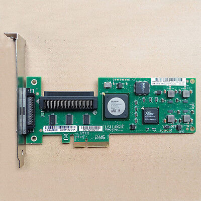 HP LSI20320IE PCI-E SCSI Controller Card Adapter 439946-001