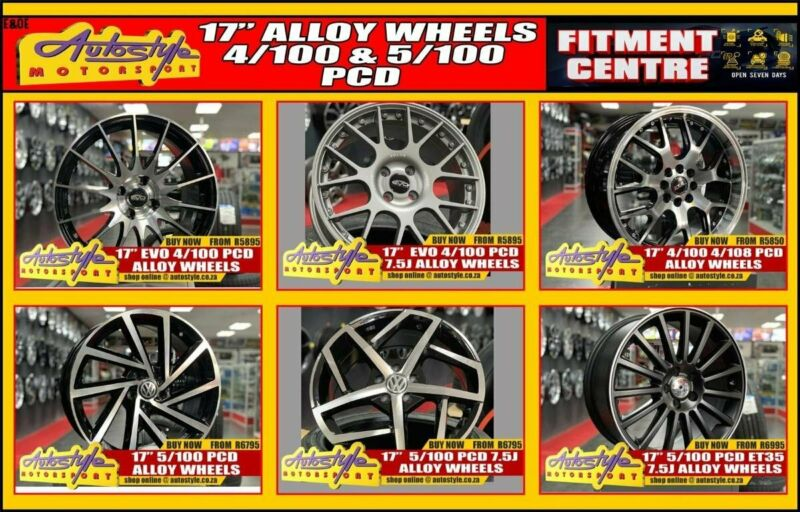 Brand new mags alloy wheels IN STOCK OPEN 7 DAYS - widest range guaranteed 17 Evo 4-100 Pcd Alloy W