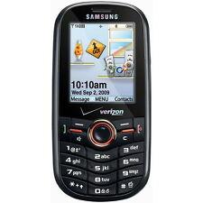 Samsun SCH-U450 INTENSITY Cell Phone (VERIZON) Mobile QWERTY Camera Clean ~Black