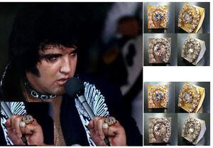 Elvis Horseshoe Ring Replica