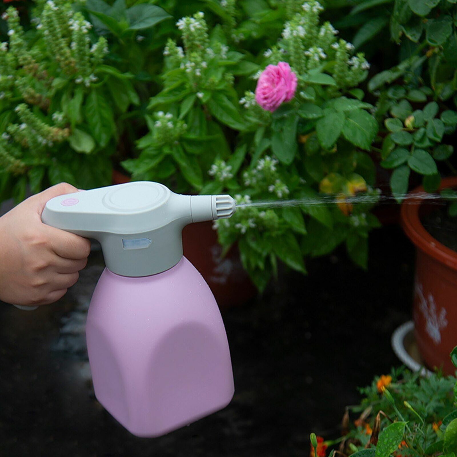 Household Electric Plant Spray Bottle Automatic Watering USB Rechargeable Tool