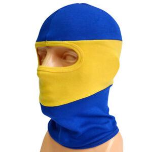 the latest 0d703 2dc2b Details about FACE MASK BALACLAVA HOOLIGANS NINJA YELLOW BLUE BOCA JUNIORS  FOOTBALL ULTRAS