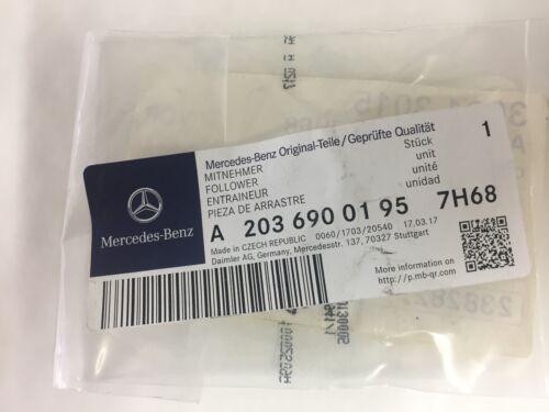 Genuine Mercedes-Benz W203 C-Clase Clc parcelshelf cadena A20369001957H68 Nuevo