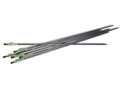 Bogenschießen Pfeile Für Crosman Benjamin Pioneer Airbow Neu Ovp Romantisch 6 Carbon Armbrustbolzen