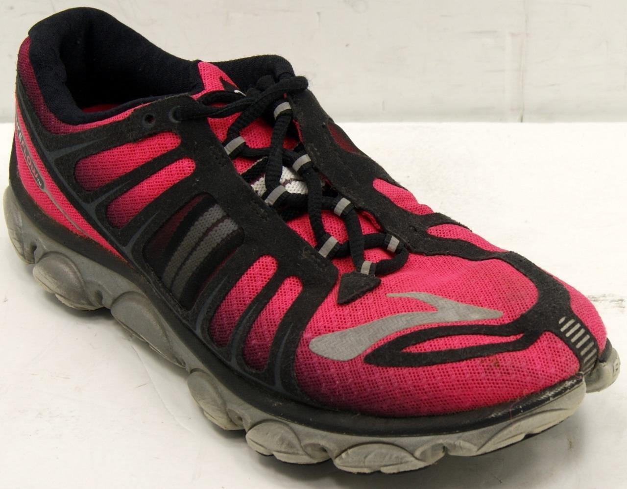 Brooks PureFlow 2 Women's 1201311B613 Pink Black Running shoes Sz 9.5 M