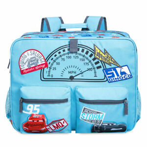 Image is loading Disney-Store-Cars-3-Lightning-McQueen-Backpack-School- c003bdce742e9