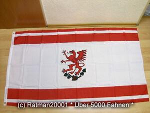 90 x 150 cm Fahnen Flagge Greifswald Sonderposten
