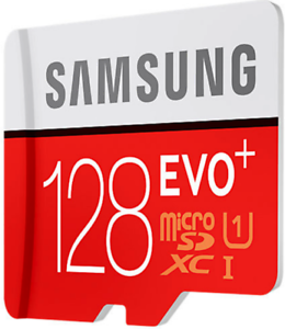 128GB Samsung Micro SD Card SDHC EVO I Class Memory Card with Adapter IBUK UHS